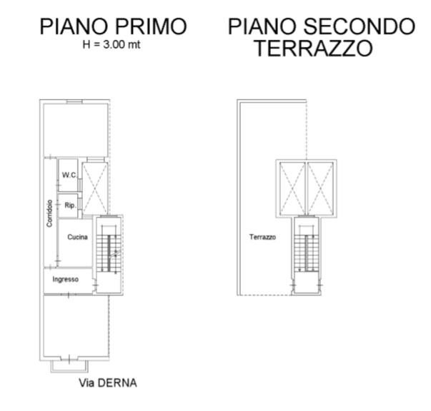 Zona Roccazzo 1°P RISTRUTTURATO CON TERRAZZO
