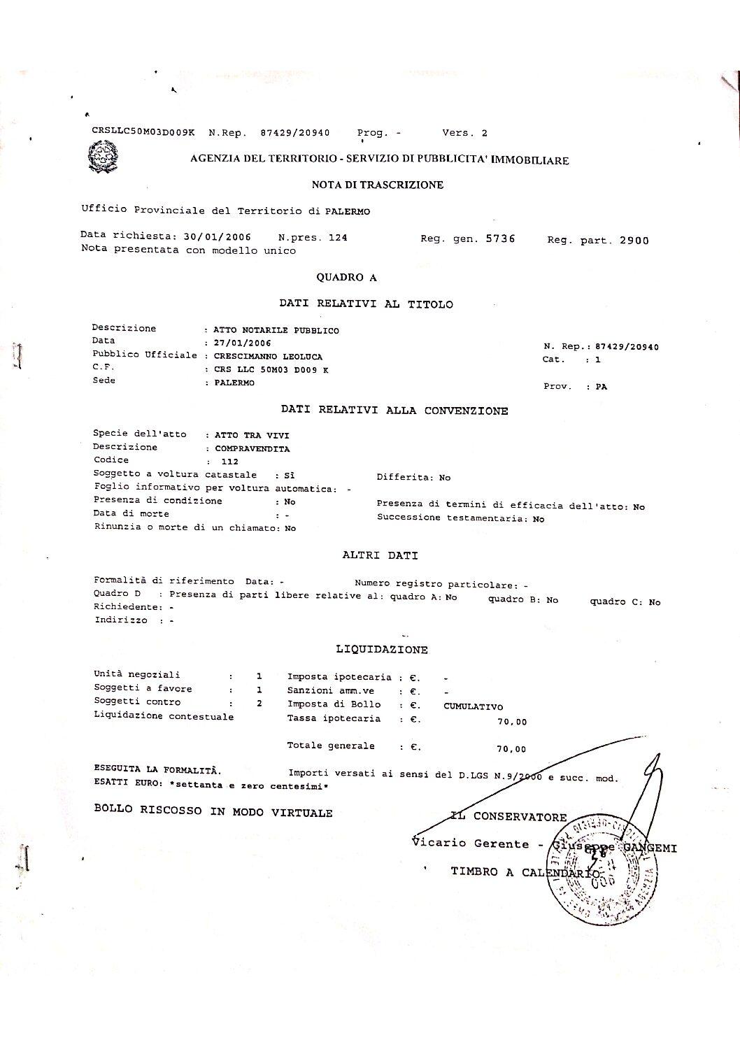 nota di trascrizione_via Oreto 107_de Biasi